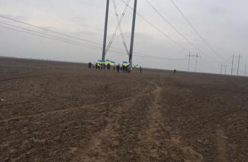 Активисты блокады Крыма: Повторного подрыва не было, опоры повалил ветер