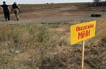 Пять военных подорвались на мине в Мариуполе, один погиб