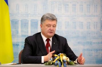 Порошенко: Продление санкций предотвратит полномасштабное наступление России