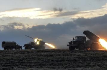 НВФ обстреляли позиции ВСУ из «Градов»