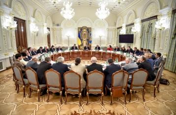 Президент: Агрессор направил усилия на дестабилизацию ситуации внутри Украины