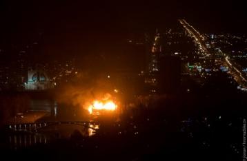 Пожар в ресторанном комплексе «Млын» ликвидирован