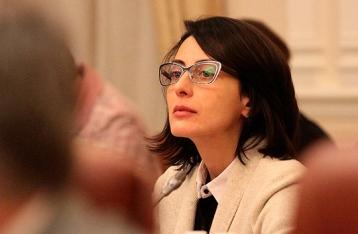 Деканоидзе инициировала отставку Терещука