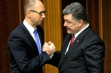 Заявление Порошенко, Яценюка и Гройсмана: Вопрос о замене премьера не стоит