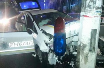 Погоня со стрельбой в Киеве: ранены двое полицейских