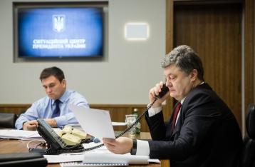 Порошенко предлагает развернуть под выборы на Донбассе спецмиссию ЕС