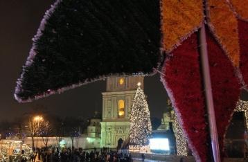 Рождественский Киев: колокольный перезвон и «Jingle Bells»