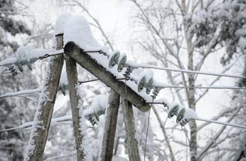 Непогода обесточила в Украине 117 населенных пунктов
