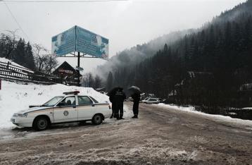 На Драгобрате бойцы ПС подрались с охранниками турбазы