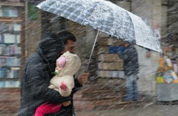 В Украине продолжит бушевать непогода: на подходе мокрый снег с дождем