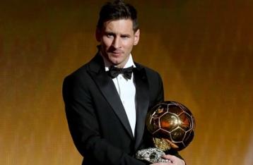 Месси получил «Золотой мяч» ФИФА