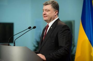 Порошенко: Давление на РФ должно продолжаться, пока она не похоронит топор войны