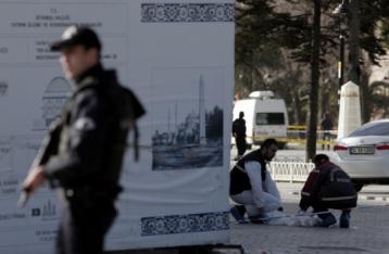 Задержан подозреваемый в причастности к теракту в Стамбуле