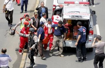 Украинцы не пострадали при взрывах в Джакарте