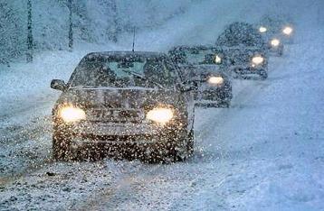 В пяти областях Украины ограничено движение транспорта
