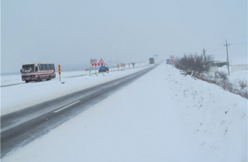Трассу Одесса-Киев открыли для легковушек и автобусов