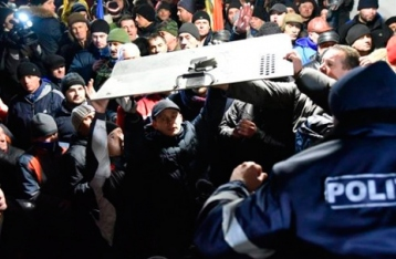 В Молдове протестующие ворвались в парламент