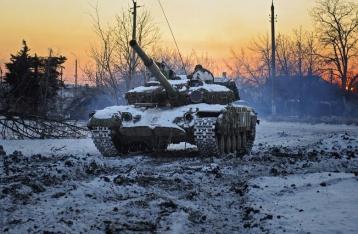 В зоне АТО опять горячо: НВФ пустили в ход танки