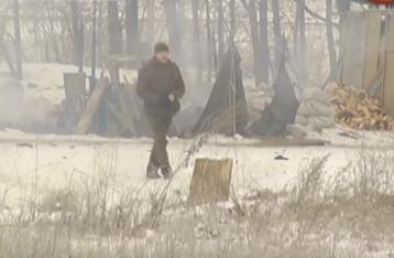 Под Бердянском горел блокпост Нацгвардии, есть пострадавшие