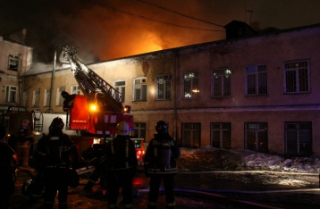 В Москве в результате пожара в швейном цеху погибли 12 человек