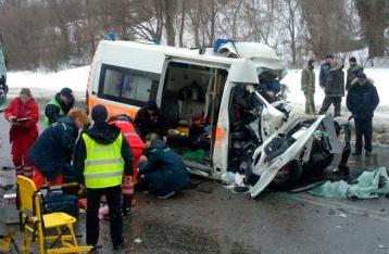 В Харькове столкнулись автобус и «скорая»: есть погибшие