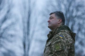 Порошенко: В этом году угроза открытой войны с РФ возросла