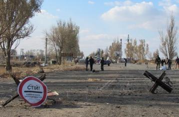 Под Марьинкой подорвался автобус, есть погибшие