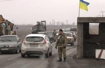 Штаб: НВФ из гранатометов обстреляли КПВВ «Марьинка»