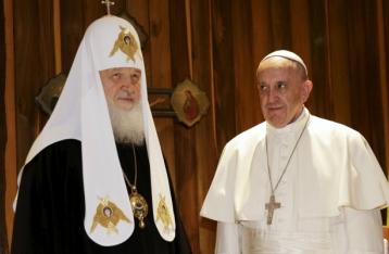 Папа Римский и глава РПЦ Кирилл подписали совместную декларацию