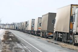 Россия запретила движение украинских грузовиков