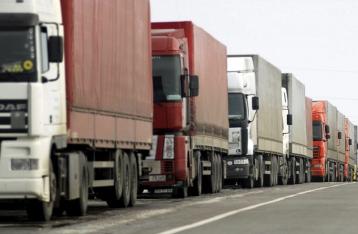 Украина проводит консультации с РФ по транзиту грузовиков