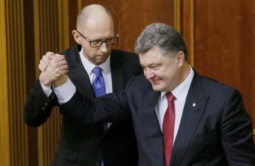 Президент выступил за отставку Яценюка и полное обновление Кабмина