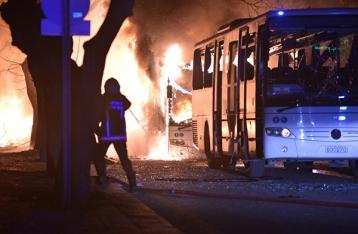 Премьер Турции: За терактом в Анкаре стоят сирийские курды