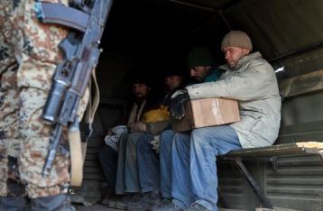Трое военных освобождены из плена НВФ