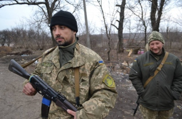 Силы АТО отбили штурм возле Зайцево