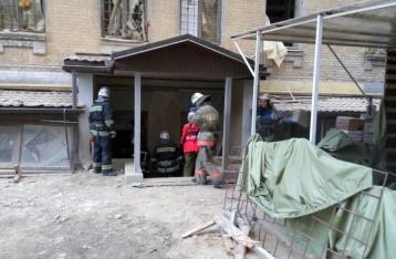 Обрушение дома в центре Киева: спасены пять человек