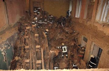 Обрушение дома на Хмельницкого: Найден еще один погибший