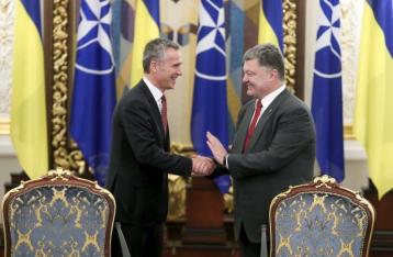 Порошенко подписал закон о представительстве НАТО в Украине
