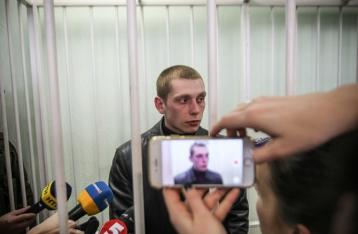Защита заявила об избиении в СИЗО патрульного Олийныка