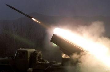 НВФ обстреляли военных из «Градов»