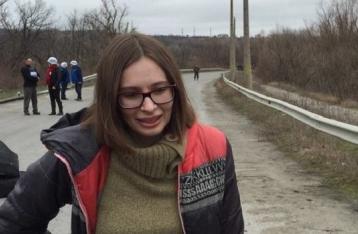 Журналистка Варфоломеева освобождена из плена