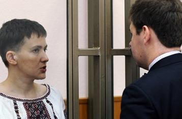 Украина собирается отправить к Савченко врачей