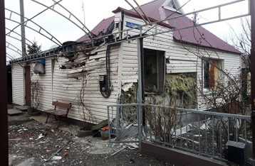 НВФ снова обстреляли жилой квартал Авдеевки