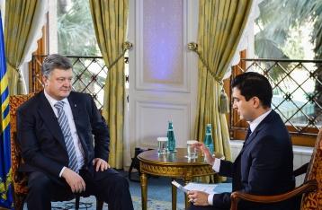 Порошенко: Я ненавижу воевать с Россией, но должен защищать Украину