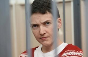 Савченко: Голодовку не брошу и жить в РФ не буду