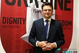 Дмитрий Кулеба: Нельзя все время строить имидж Украины на образе жертвы