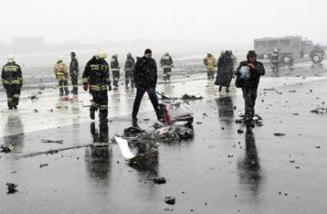 МАК: Самописцы разбившегося в Ростове «Боинга» сильно повреждены