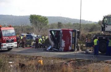 В Испании в ДТП с автобусом погибли 14 студентов-иностранцев
