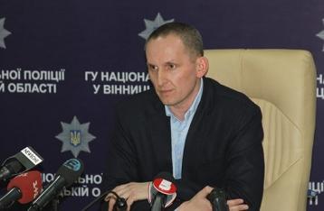 Скандального главу полиции Винницкой области освободили из-под стражи