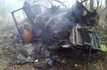 В Авдеевке на фугасе подорвался грузовик, погибли двое военных